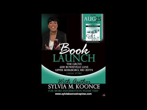 Author Sylvia Koonce A Daily Dose Book LAUNCH Commercial