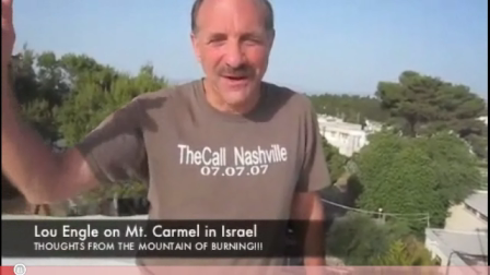 "Missionaries  Lou Engle and Sean Feucht call for ""Fire"" from Mt. Carmel (2008)"