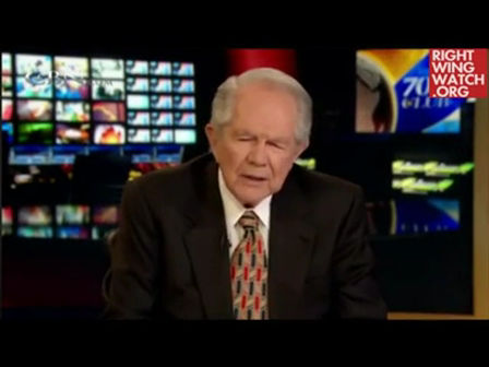 """CBN's Pat Robertson claims that """"the poor Jews"""" can't understand the source of anti-Semitism because they don't believe in Jesus or the devil – """"it's too cosmic for most of them to grasp"""" (April 2012)"""