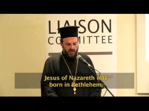 Father Gabriel Naddaf addresses B'nai B'rith International (excerpts)