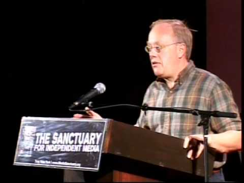 """Chris Hedges """"Death of the Liberal Class"""" at The Sanctuary for Independent Media 10-17-10"""