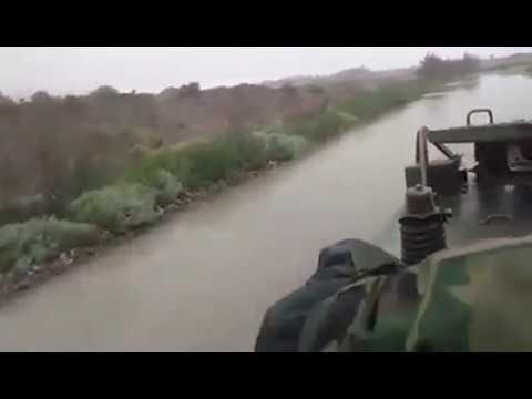 Ejército Argentino dando apoyo en Comodoro Rivadavia con blindados M-113 - 2017