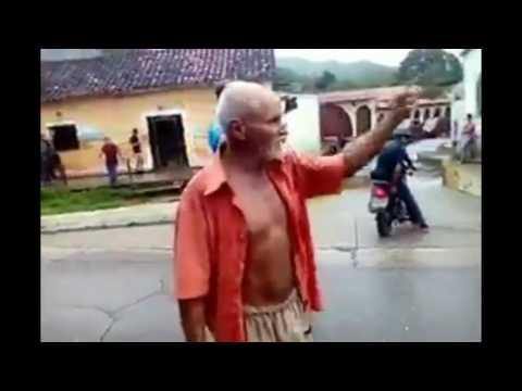 ABUELITO MARGARITEÑO descarga su ira en contra del régimen venezolano, desde Tacarigua mun Gómez