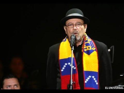 RUBÉN BLADES CANTA A VENEZUELA