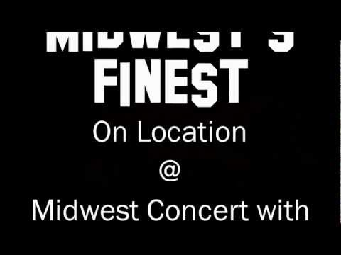 Midwest's Finest: KB Performs Bullet Proof at the Midwest Concert in Goshen