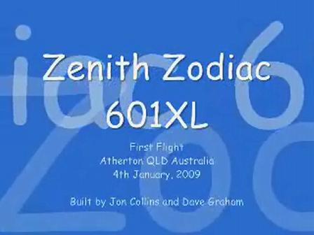 Zodiac 601XL 19-5466 first flight