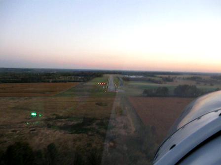 Flying the Zodiac - I68 Landing