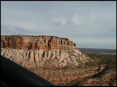Flying Near Zuni Pueblo New Mexico 05-03-2009 in my Zodiac XL