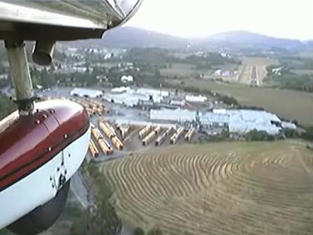 Landing in Cloverdale, CA (O60)