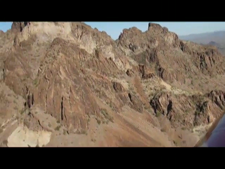 Flying through the notch in Saddleback Mt. AZ
