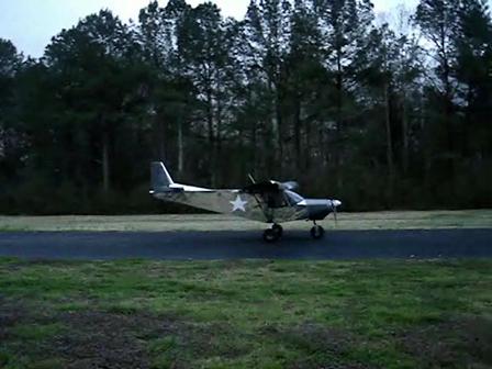 STOL CH 701 First Flight