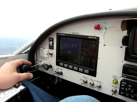 Zodiac CH 601 - Flying