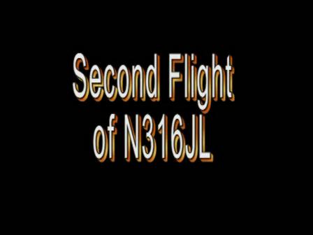 Second Flight of N316JL