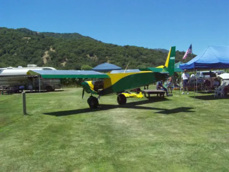 Quality Sport Planes 701 at R/C gathering in Northern Calif