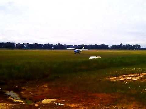Zenith 701 short landing.