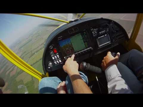Flying the CH 750 with the Dynon SkyView
