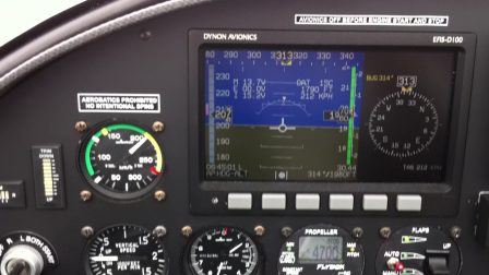 Flying with the Dynon autopilot