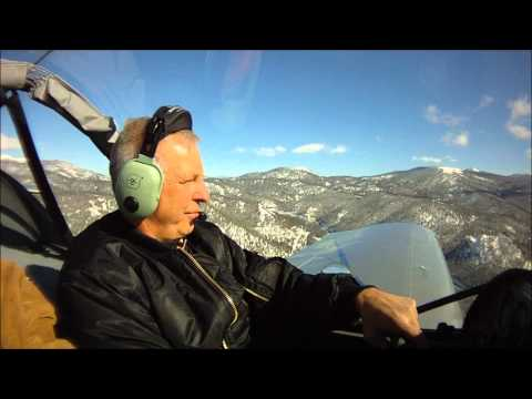 Flying the CH 650 B light sport aircraft to Lake Tahoe