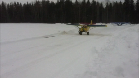 STOL takeoff from snow
