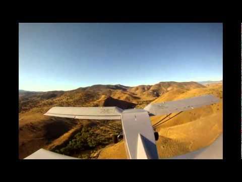 Flight school- Mountain flying in a light sport