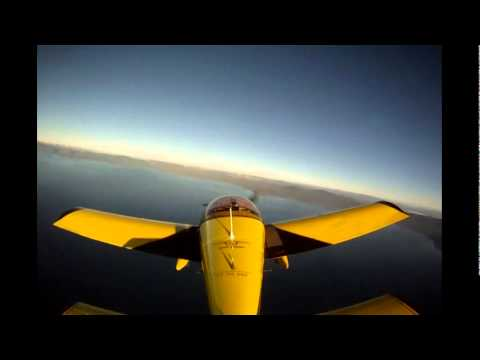 Sport pilot flight instruction over Lake Tahoe