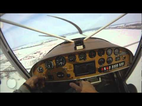 Fun in the snow! Winter flying with wheel-skis on the Zenith STOL