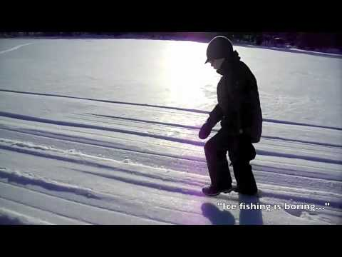 Gone (Ice) Fishing with the Zenith STOL on skis