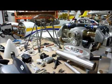 UL Power airplane engine: Zenith CH 650 Firewall-forward powerplant kit