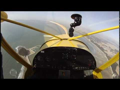The first flight of STOL CH-750 in Korea