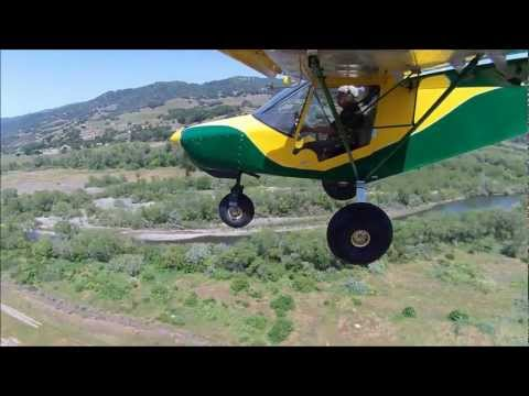 Zenith STOL flight demo