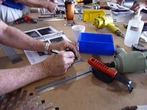 """Build your own binder"" mini workshop at the Zenith Aircraft Open Hangar Day"