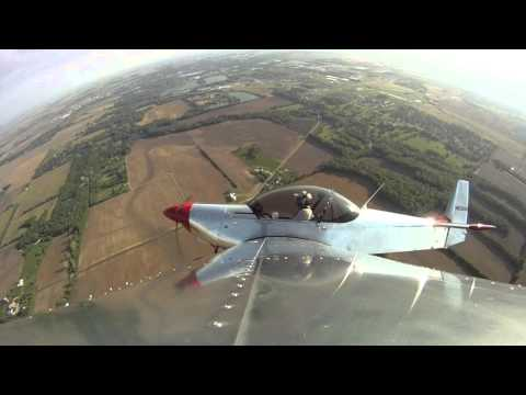 Different Perspective: Wingtip Camera View