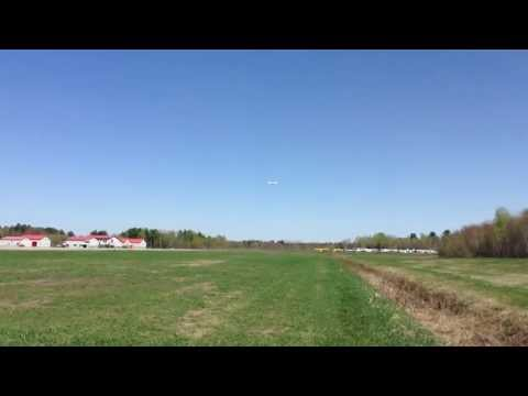 Takeoff from airport runway.. Long Flat takeoff for the video !!!