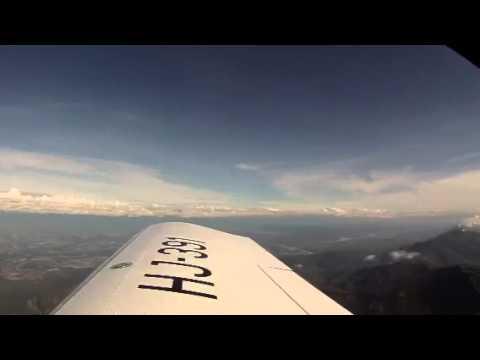 Cruising@10k Bogota Girardot in a zodiac Xl