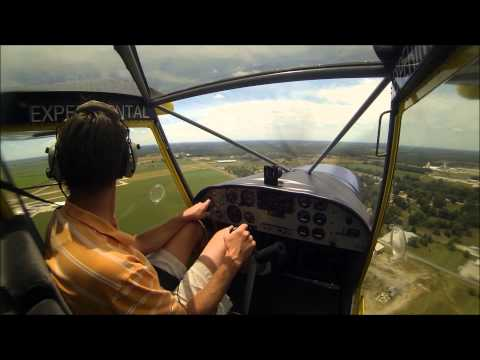 Roger takes us flying in the STOL CH 701