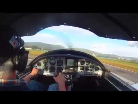 Zodiac 601 XL landing at SKGY, Colombia