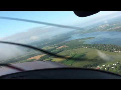 Nice Port Perry flight!