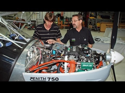 Rotax 912iS installation explained