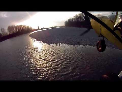 First Gravel Bar Landing in the CH701