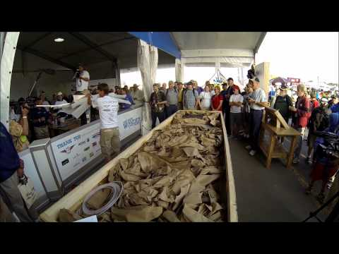 Opening Day: One Week Wonder project tent at EAA Oshkosh AirVenture 2014