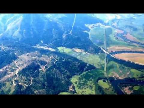 Real interesting terrain near the Montana-Idaho boarders. Fun flyin the CH750.