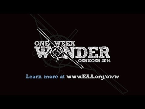 One Week Wonder Time-Lapse Video