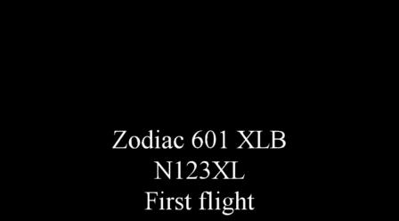Zodiac 601XLB - First Flight