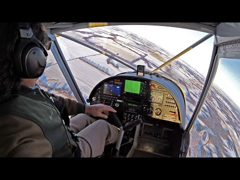 Winter views from the CH 750 over central Missouri