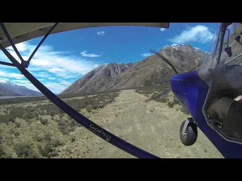 STOL Flying - South Island, New Zealand