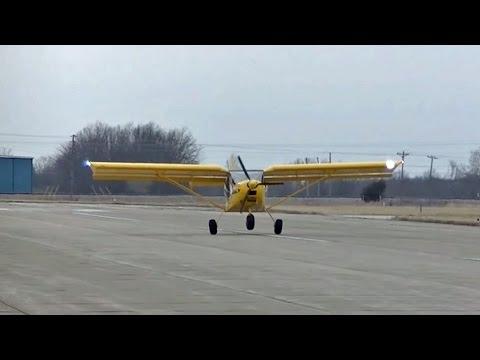Practicing short landings and take-offs