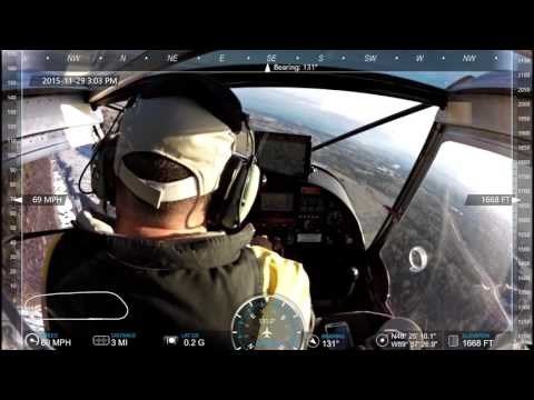 CH750 STOL -Full Flap Take Off.