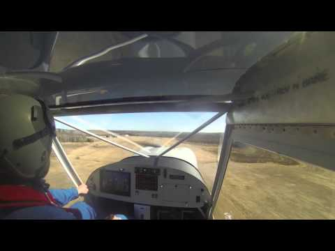 Steve Towle's First Flight Video - Cabin View