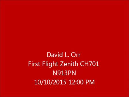 Zenith STOL CH 701 First Flight