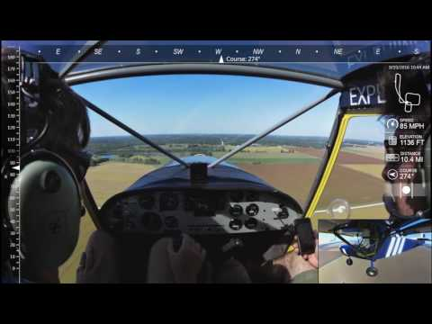 STOL CH 701: Cruising in the low nineties with the new streamlined wing struts